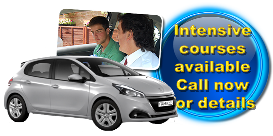 Intensive courses available in Redbourn with Franco´s Driving School!